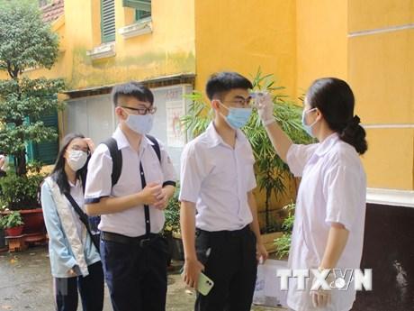 Thi tốt nghiệp THPT đợt 2: 98,5% thí sinh đăng ký đã tới dự thi