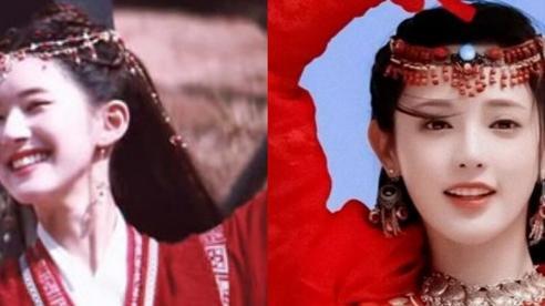 Lộ tạo hình áo đỏ cực đẹp của Triệu Lộ Tư, nhìn qua đã hết hồn vì đạo nhái Bành Tiểu Nhiễm ở Đông Cung
