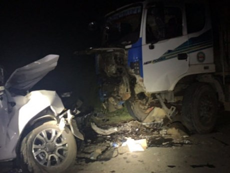 Tai nạn giao thông nghiêm trọng tại Nghệ An, một cán bộ y tế tử vong