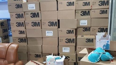 Hà Nội: Phát hiện 20.000 khẩu trang nghi làm giả chuẩn bị cung cấp cho một số bệnh viện
