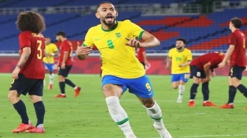 Olympic Tokyo 2020: U23 Brazil đoạt Huy chương Vàng bóng đá nam