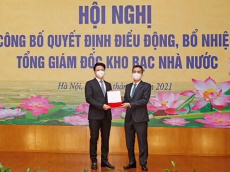 Bổ nhiệm ông Trần Quân làm Tổng giám đốc Kho bạc Nhà nước