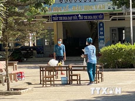 Ninh Thuận tập trung xử lý các ca bệnh phát sinh trong khu cách ly