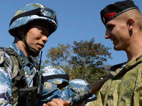 Tăng cường hợp tác giữa lực lượng vũ trang Nga và Trung Quốc