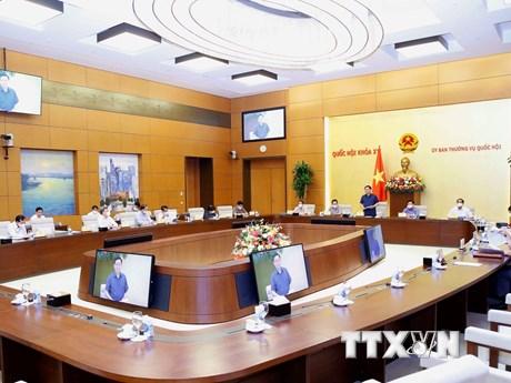 Phiên họp thứ 2 của Ủy ban Thường vụ Quốc hội: Xem xét 4 nội dung lớn
