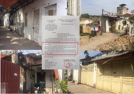 UBND TP Hà Nội yêu cầu quận Cầu Giấy khẩn trương giải quyết dứt điểm vướng mắc theo phản ánh của Lideco
