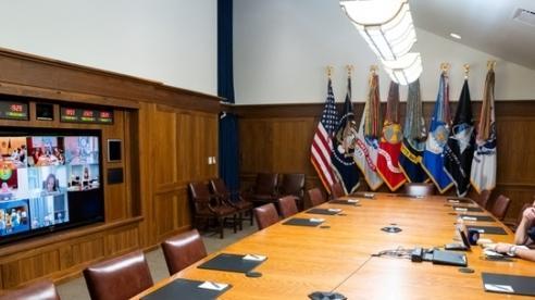 Tổng thống Biden họp trực tuyến về tình hình Afghanistan từ Trại David