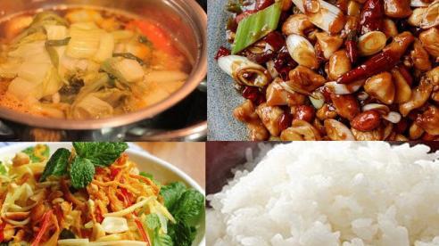 Thực đơn cơm chiều: Món ngon nhiều dinh dưỡng