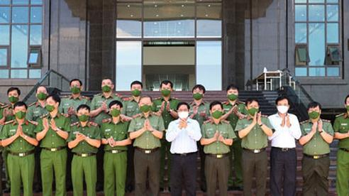 Lực lượng Công an tận tụy với nhân dân