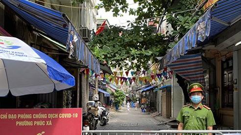 Xét nghiệm 1.000 người dân liên quan đến 4 ca mắc Covid-19 tại phường Phúc Xá, quận Ba Đình