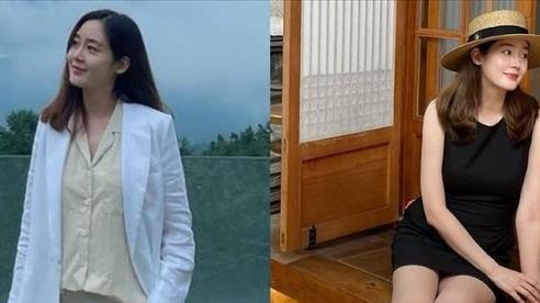 Ngỡ ngàng trước vóc dáng mảnh mai của 'Nữ hoàng tuyết' Sung Yuri: Mang thai đôi mà như chưa hề bầu bí