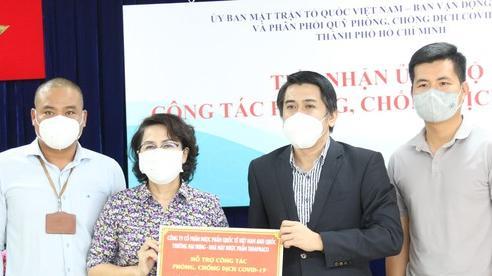 TPHCM tiếp nhận thuốc, vật tư y tế phòng, chống dịch Covid-19