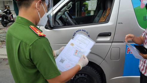 TP HCM hướng dẫn đăng ký lộ trình lưu thông xe chở hàng hóa