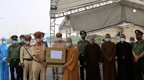 Tấm lòng của Ban Trị sự Giáo hội Phật giáo Việt Nam thành phố Hà Nội trong mùa dịch