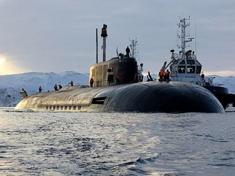 Tàu ngầm hạt nhân Nga bắn thử tên lửa tại Bắc Cực