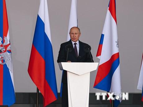 Tổng thống Nga tăng lương cho lực lượng thực thi pháp luật và quân đội