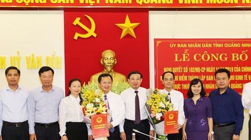 Khu kinh tế Vân Đồn, Quảng Ninh: Dồn sức, hợp lực đồng hành với nhà đầu tư