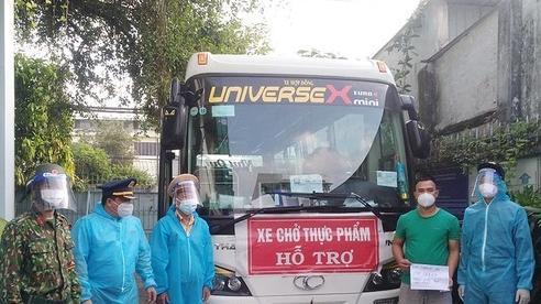 Xe khách gắn mác từ thiện chạy 'luồng xanh' chở hàng lậu vào TP.HCM