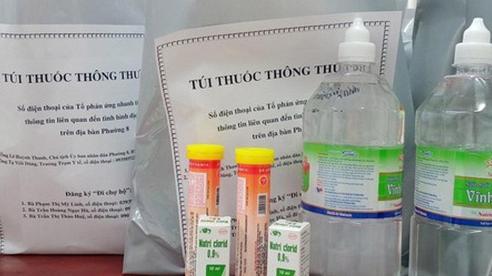 UBND TP HCM đồng ý mua thêm 200.000 túi thuốc phục vụ điều trị F0 tại nhà