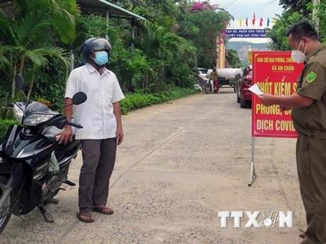 Phú Yên: Nỗ lực khống chế các ổ dịch COVID-19 ngoài cộng đồng