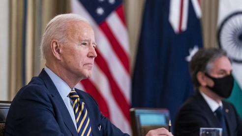 Tổng thống Biden làm việc chưa từng có với 'Bộ tứ'