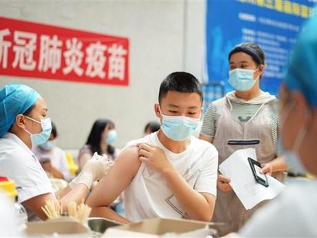 91% trẻ vị thành niên Trung Quốc được tiêm vaccine 'đầy đủ'
