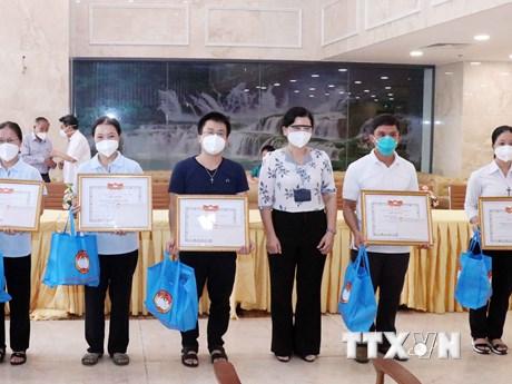 Tri ân tình nguyện viên tôn giáo hoàn thành nhiệm vụ hỗ trợ chống dịch
