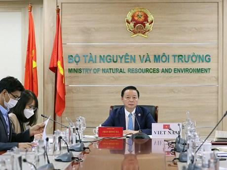 Việt Nam-Hàn Quốc tăng cường hợp tác về tài nguyên và môi trường