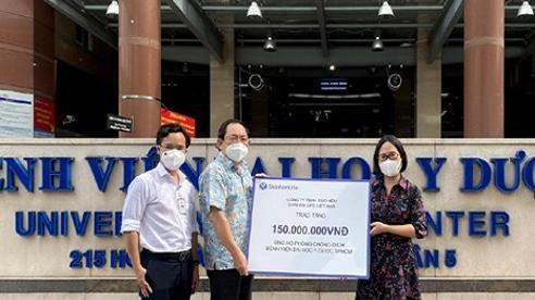 Bảo hiểm Shinhan Life Việt Nam tiếp sức bệnh viện tuyến đầu