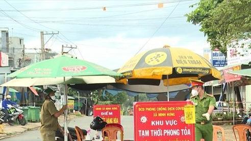 Vùng 'cam, đỏ' xuất hiện nhiều hơn ở Bình Phước