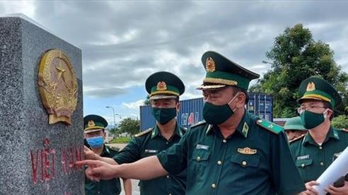 Kiểm tra công tác chuẩn bị tổ chức Giao lưu hữu nghị Quốc phòng biên giới Việt Nam - Lào lần thứ nhất