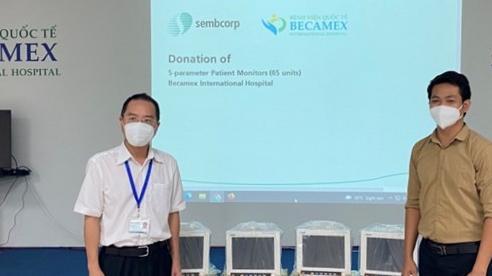 Tập đoàn Sembcorp hỗ trợ 1 triệu đô la Singapore chống dịch tại Việt Nam