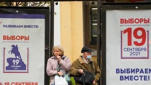 Nga bắt đầu bầu cử Hạ viện