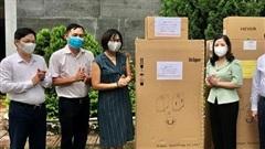 Thanh Hóa tiếp nhận 17 máy thở, 12 máy tạo oxy phòng, chống dịch COVID-19