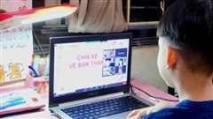 Tiết học trực tuyến của trẻ tiểu học ở TP Hồ Chí Minh không quá 25 phút