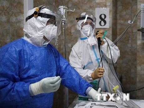 Nga khánh thành tượng đài vinh danh các bác sỹ trong đại dịch COVID-19