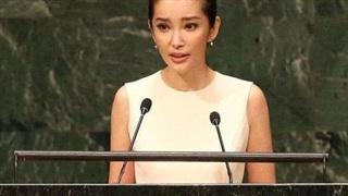 37 tuổi mới học tiếng Anh, nhưng mỹ nhân Hoa ngữ này vẫn xuất sắc đứng phát biểu tại cuộc họp của Liên Hợp quốc