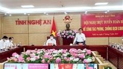 12 giờ qua Nghệ An không ghi nhận ca dương tính mới với COVID-19