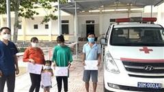 Những bệnh nhân COVID-19 cuối cùng điều trị tại Bệnh viện Cầu Treo, Hà Tĩnh xuất viện