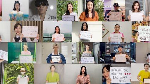 Thông điệp ý nghĩa của hơn 30 sao Việt trong MV 'Sẽ Không Ai Bị Bỏ Lại Phía Sau'