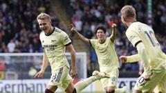 'Messi Na Uy' lập siêu phẩm sút phạt giúp Arsenal thắng trận thứ 2 liên tiếp