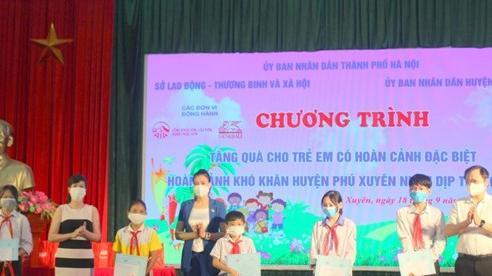 Hà Nội tặng quà Tết Trung thu cho 2.181 trẻ em có hoàn cảnh đặc biệt