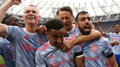 Ronaldo, Lingard ghi bàn, Man United thắng ngược West Ham