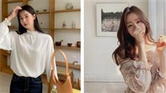 Mẫu áo mùa thu đang phủ sóng khắp mạng xã hội, chị em không sắm thì thiệt bao set đồ sang chảnh ngút ngàn
