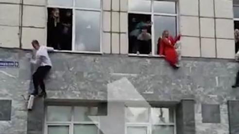 Xả súng trong trường Đại học ở Nga, sinh viên nhảy qua cửa sổ để thoát thân