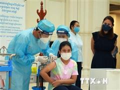 Campuchia đạt dấu mốc mới trong công tác tiêm phòng COVID-19