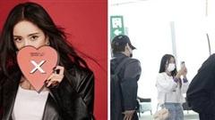 Khoảnh khắc khó đỡ: Lưu Khải Uy 'chạm mặt' Ngụy Đại Huân - tình tin đồn của vợ cũ Dương Mịch tại sân bay
