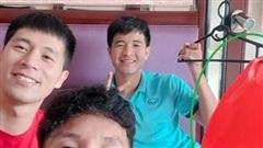 Bộ 3 hotboy của ĐT Việt Nam chung một khung hình nhưng chiếm spotlight lại là 'chiếc đèn Trung thu bá đạo'