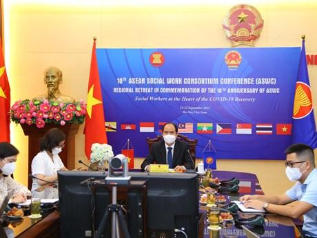 Thúc đẩy hệ thống công tác xã hội chuyên nghiệp trong khu vực ASEAN
