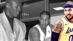 Michael Jordan chính là người mở khoá khả năng ghi điểm khủng khiếp của Carmelo Anthony